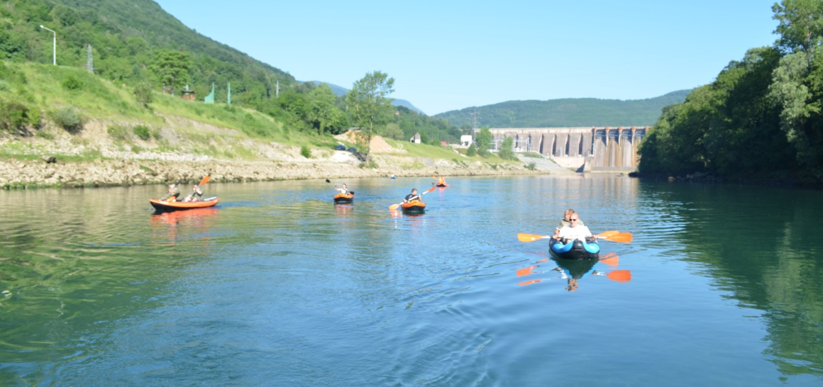 Drina kayaking adventure